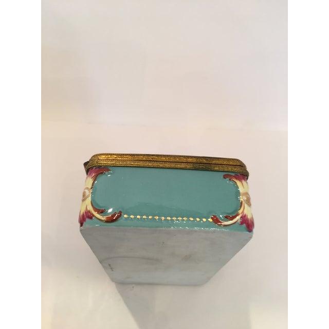 Image of Capodimonte Cupid Hinged Box