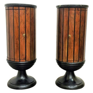 Columns Bar Cart - Pair