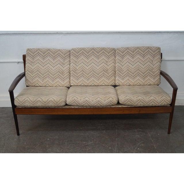 Ole Wanscher P. Jeppsen Brazilian Walnut Sofa - Image 2 of 10