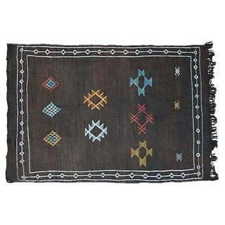 Moroccan Cactus Silk Rug- 3′2″ × 5′2″