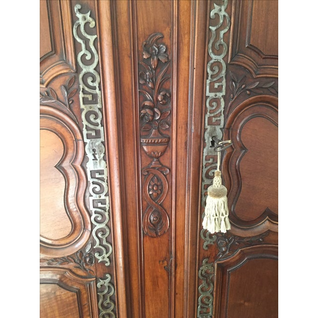 18th Century Louis XV French Armoire - Image 7 of 10