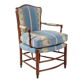 French Provincial Beechwood Armchair