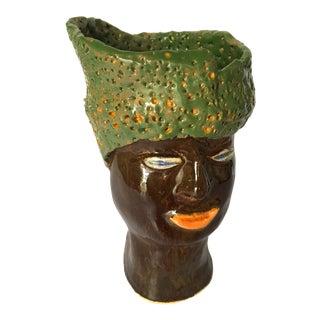 Folk Art Vase