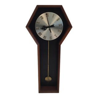 Howard Miller Company Mid-Century Wall Clock