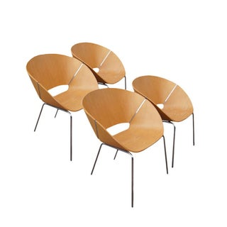 Wolfgang C.R. Mezger Lipse Chairs - Set of 4