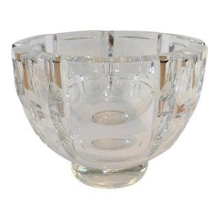 Orrefors Lead Crystal Decorative Bowl