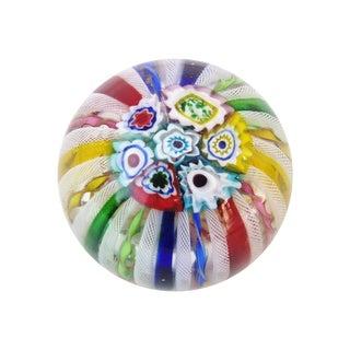 Venetian Glass Millefiori Paperweight
