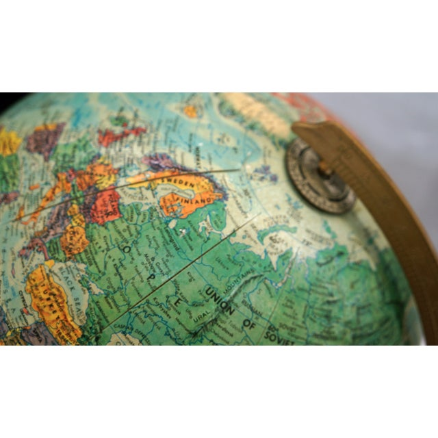 Image of 1970s Replogle Vintage Globe