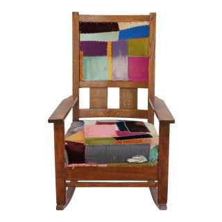 Patchwork Rocking Chair