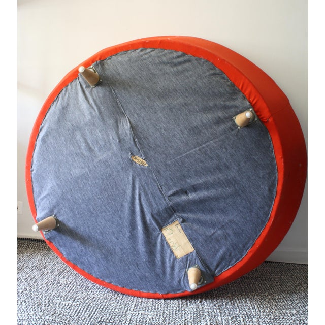 Milo Baughman Round Chaise Lounge - Image 7 of 10