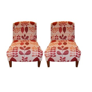 Michael Berman Traditional Slipper Chairs - Set of 2