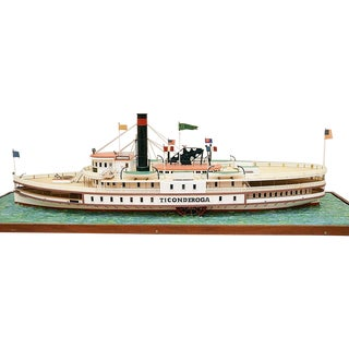 Ticonderoga - Wooden Model Ship