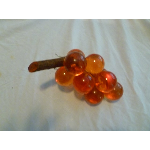 1970s Vintage Lucite & Driftwood Grapes - Image 3 of 8