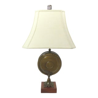 Vintage Disc Canteen Urn Lamp