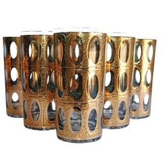 Vintage Culver Pisa Glasses - Set of 6
