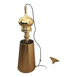 Gold Pendant Lamp With Shade