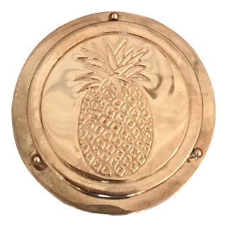 Silver Pineapple Coasters - Set of 6