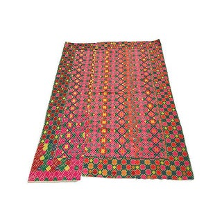 Hand Woven Hmong Wedding Quilt