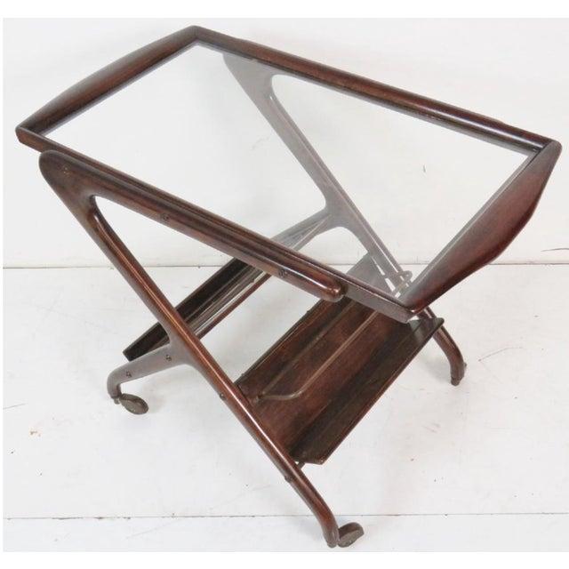Ico Parisi Style Bar Cart - Image 4 of 4