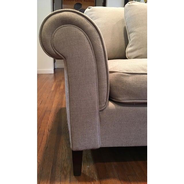 1970s Linen Sofa - Image 4 of 6
