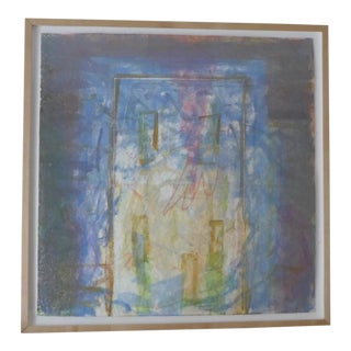 1998 Christopher Le Brun Untitled Abstract Monotype