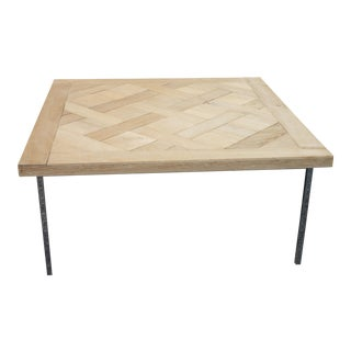 Parquet Top Coffee Table