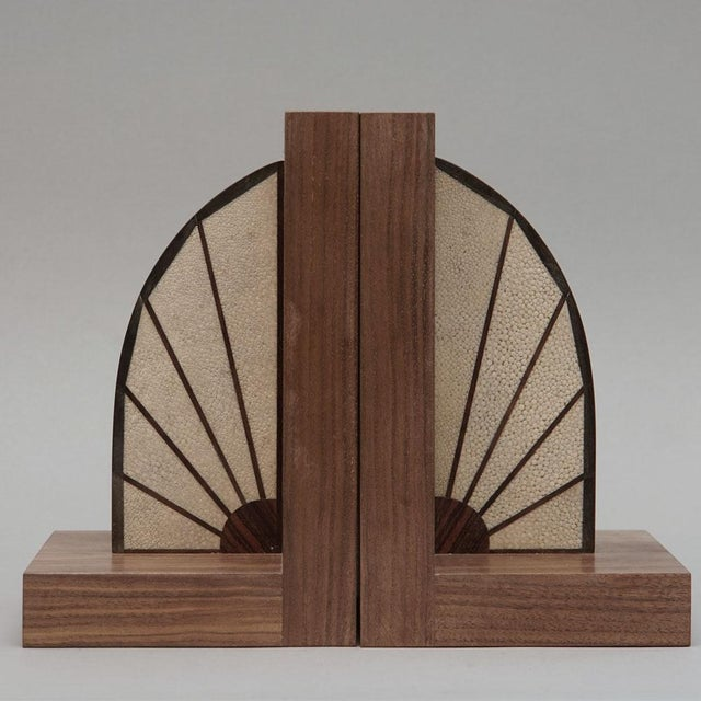 Walnut Bookends - Image 2 of 5