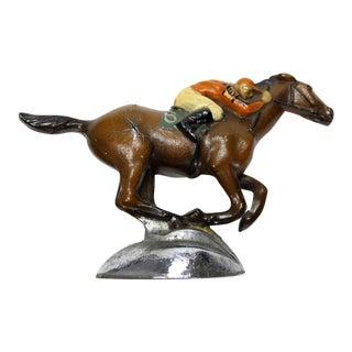 Roycroft Stables Jockey Car Mascot