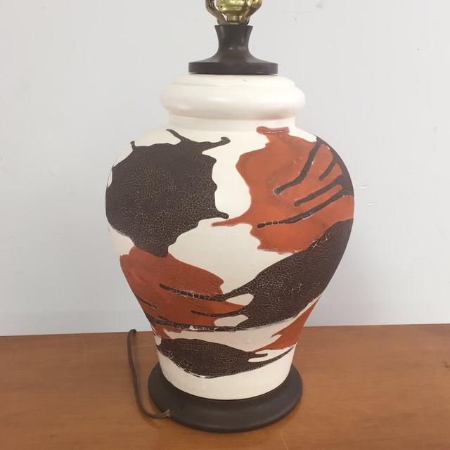 Royal Haeger Drip Glaze Table Lamp - Image 7 of 10