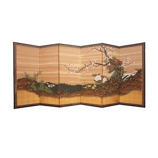 Japanese Six Panel Screen
