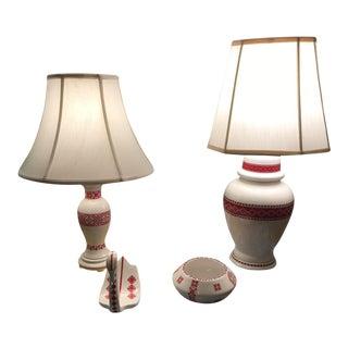 Ukrainian Art Lamps and Nick Naks