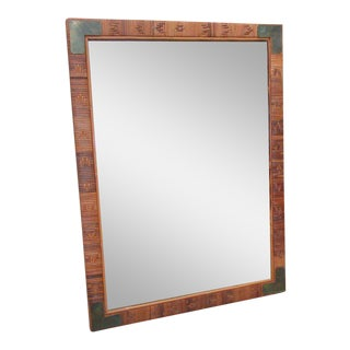 Island Style Woven Mirror