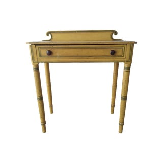 19th Century Painted Folk Art Desk