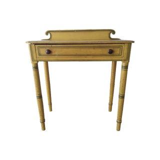 19th Century Painted Folk Art Desk