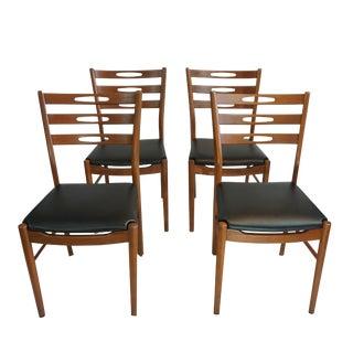 Farstrup Eye Back Ladder Back Chairs - Set of 4