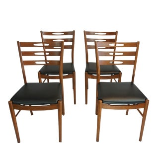 Farstrup Eye Back Ladder Back Chairs - Set of 4