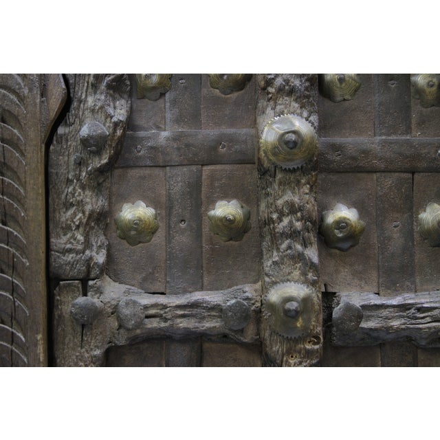Image of 19th Century Anglo Indian Door