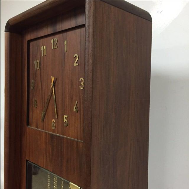 Danish Modern Grandfather Clock - Image 5 of 8