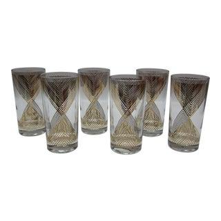 George Briard Mid-Century Drinking Glasses - Set of 6