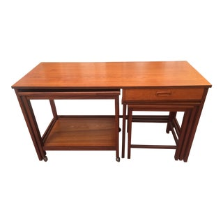 Mid-Century Modern Nesting Tables - Set of 4