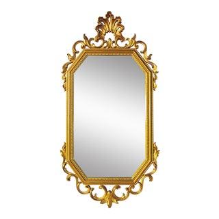 Syroco Gilt Wall Rococo Mirror