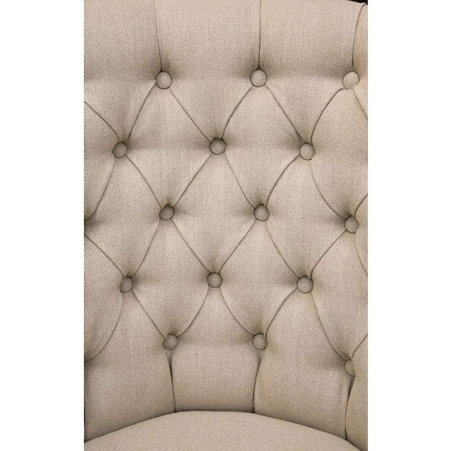 Mid-Century Slipper Chairs, Pair - Image 8 of 8