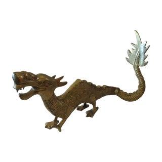 Brass Dragon Figurine