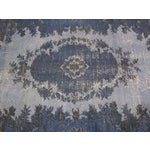 "Image of Vintage Overdyed Turkish Rug - 6'6"" X 9'10"""