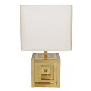 Willy Rizzo Lumica Geometric Table Lamp