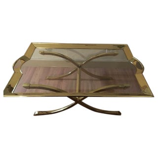 La Barge Brass Cocktail Table 1970's