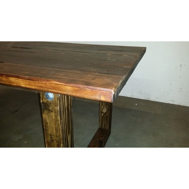 Image of Bradley Reclaimed Wood Dining Table