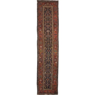 Antique Persian Kurdish Runner - 3′8″ × 16′5″