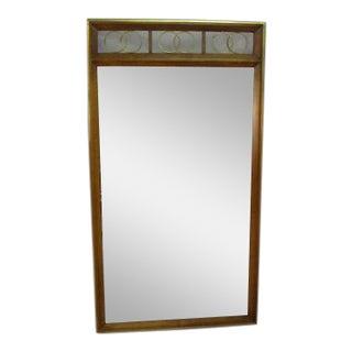 French Regency Wall Dresser Mirror