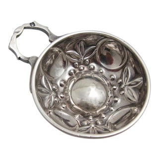 Minerva French Sterling Silver Wine Taster